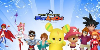 Pocamon: browser game con personaggi anime famosi
