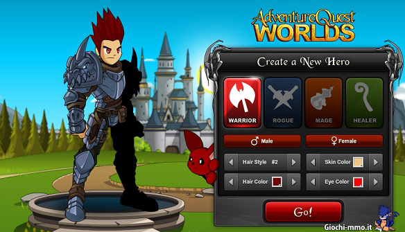 personaggio AQWorlds