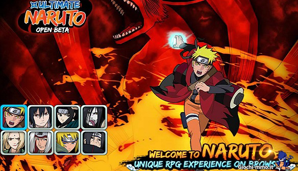 Naruto browser game