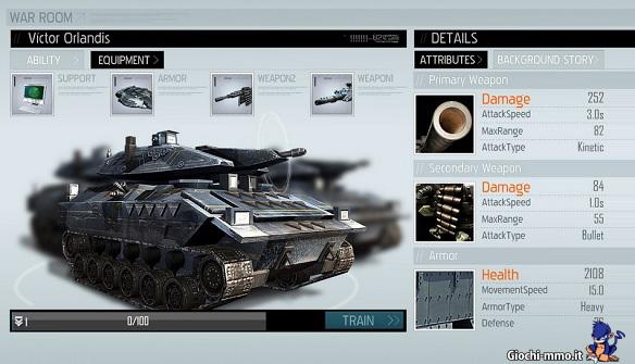 carro armato EndWar Online