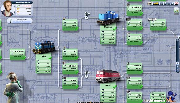 nuovo albero rail nation