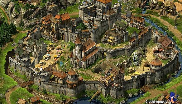 Castello villaggio Tribal Wars 2