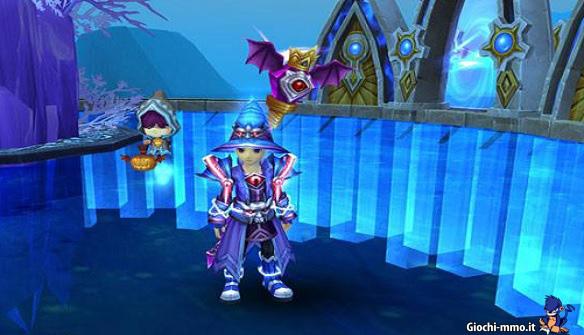 Personaggio mago Alfheim Tales Online