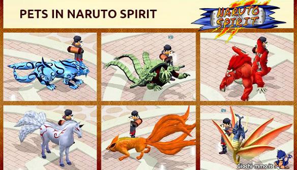 Pet Naruto Spirit