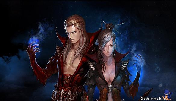 Personaggi Arcane Chronicles