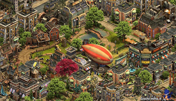 Città moderna in Forge of Empires