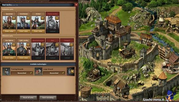 Unità da combattimento in Tribal Wars 2