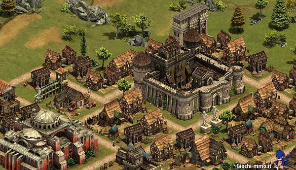Villaggio e castello Forge of Empires