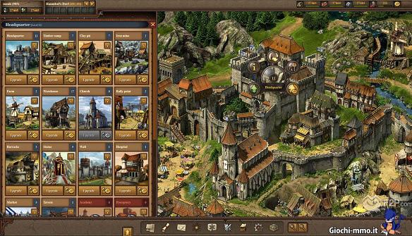 Villaggio e edifici Tribal Wars 2