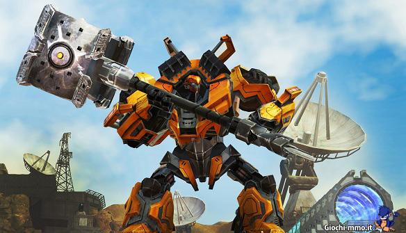 Martello gigante Transformers Universe