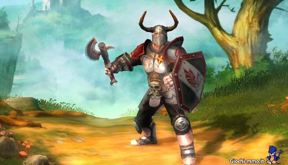 Personaggio cavaliere Drakensang Online