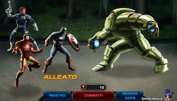 Combattimento-eroi-Marvel-contro-boss