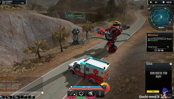 Ambulanza Transformers Universe