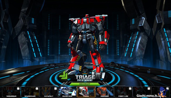 Triage Transformers Universe