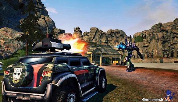 sparatoria veicolo Transformers Universe