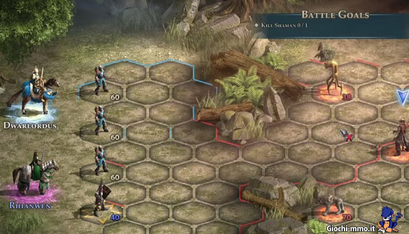 Combattimento Might & Magic Heroes Online