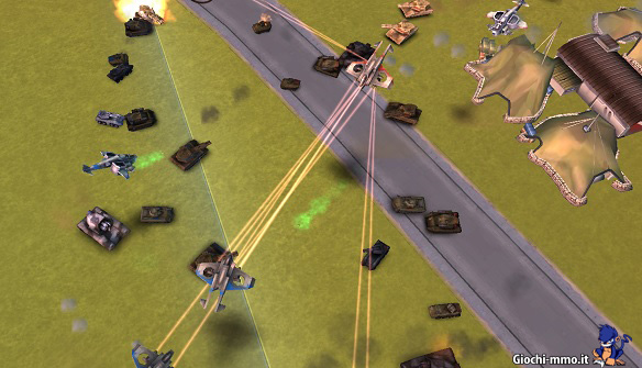 Combattimento in tempo reale Rising Generals