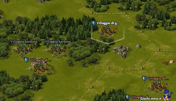 Mappa Tribal Wars 2