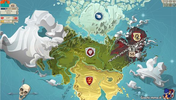 Mappa territori Goodgame Empire