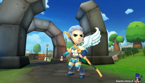 Angelo arciere Heroes of Rune