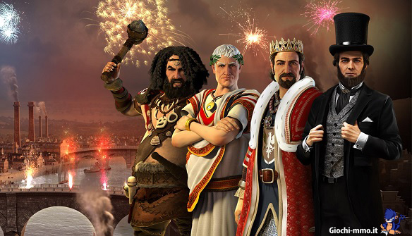 Personaggi Forge of Empires