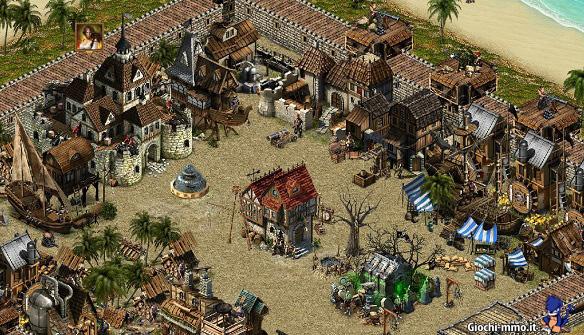 Villaggio isola evoluto