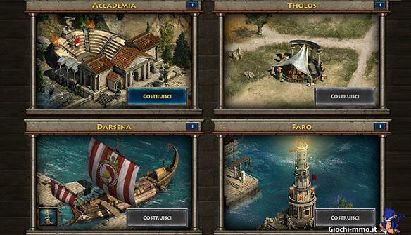 Costruzioni Sparta war of empires
