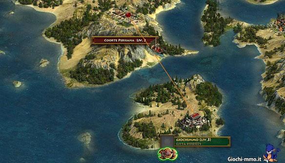 Mappa Sparta War of Empires