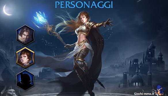 Personaggi Magerealm