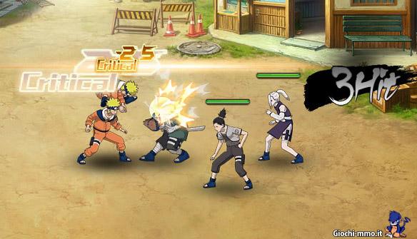Combattimenti ninja Naruto