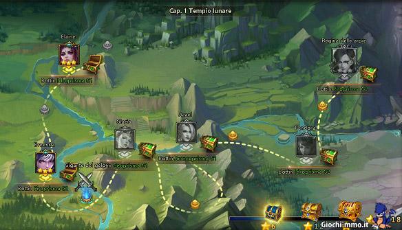 Mappa-livelli-League-of-Angels-2