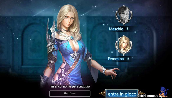 Personaggio femminile - League of Angels 2
