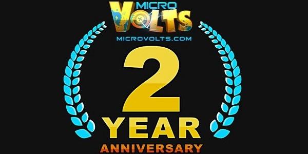 MicroVolts festeggia il suo secondo anniversario
