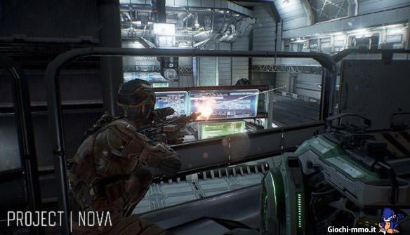 Anteprima sparatutto Project Nova
