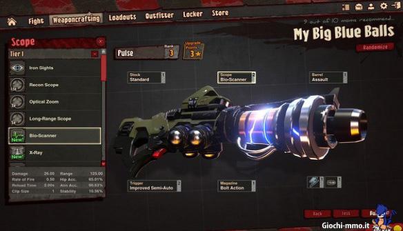 Arma personalizzata Loadout