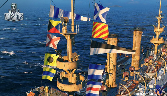 Bandiere World of Warships