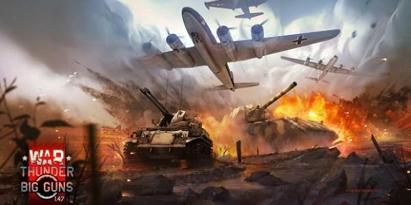 "War Thunder: importante aggiornamento ""Big Guns"""
