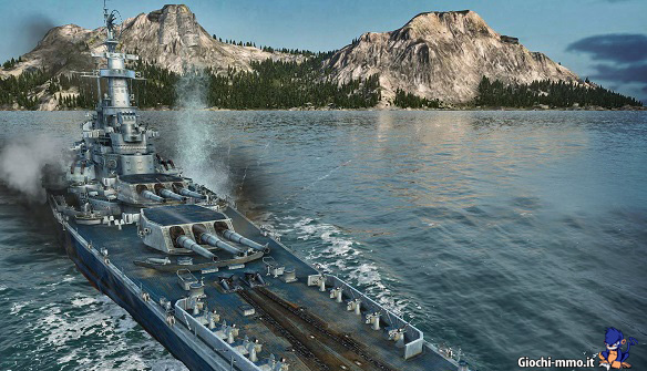 Cannoni nave World of Warships