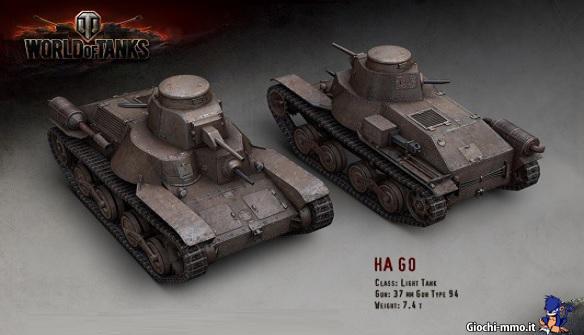Carro Armato Giapponese World of Tanks