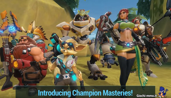 Champion Masteries Paladins