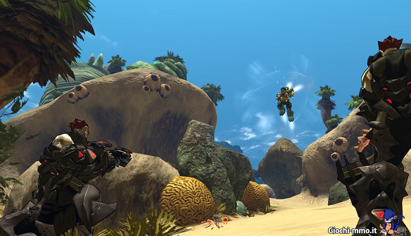 Combattenti ARES in Firefall