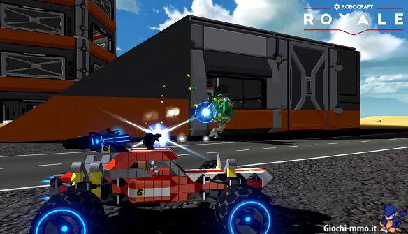 Robocraft Royale: Early Access su Steam dal 26 marzo 2018