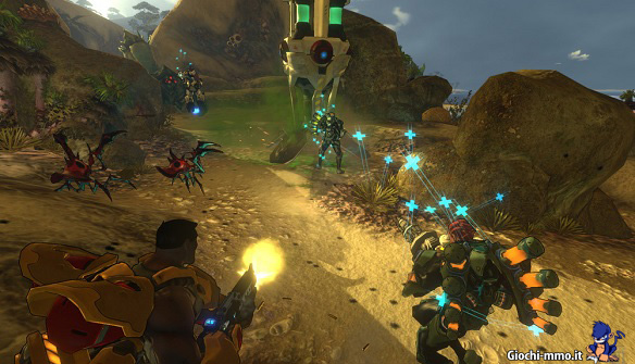 Combattimento in Firefall