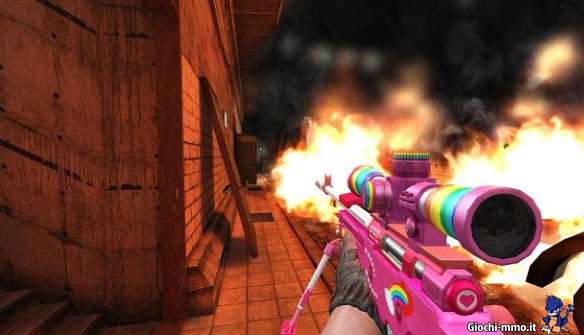 District 187 arma rosa