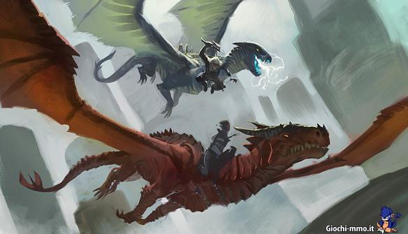 Draghi Dragons of Elanthia