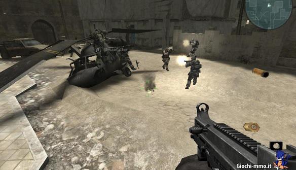 Elicottero soldati Combat Arms