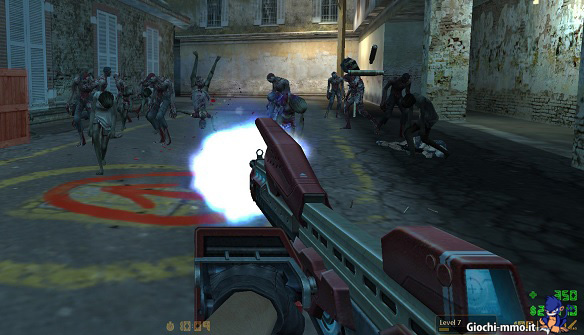 Fucile contro zombie in Counter-Strike Nexon Zombies