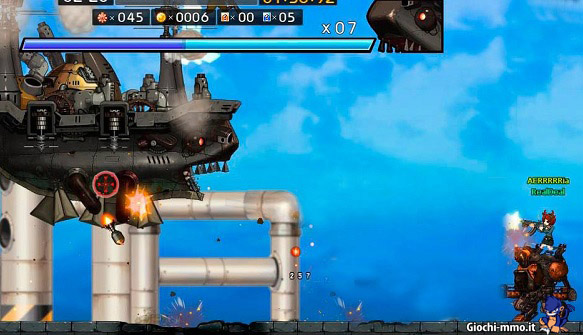 Gameplay Metal Assault