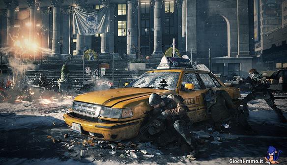 Guerra in strada Tom Clancy's Division