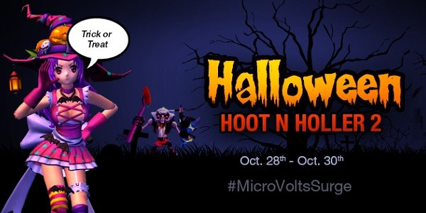 MicroVolts Surge: Sharknife Crashes Halloween Party